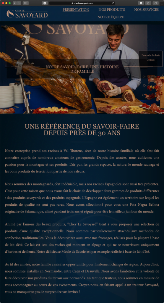 Chez Le Savoyard